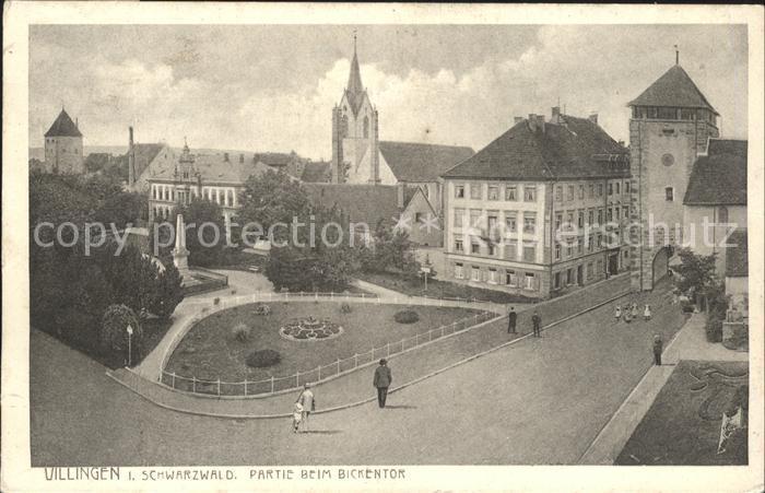 Villingen-Schwenningen Bickentor / Villingen-Schwenningen /Schwarzwald-Baar-Kreis LKR