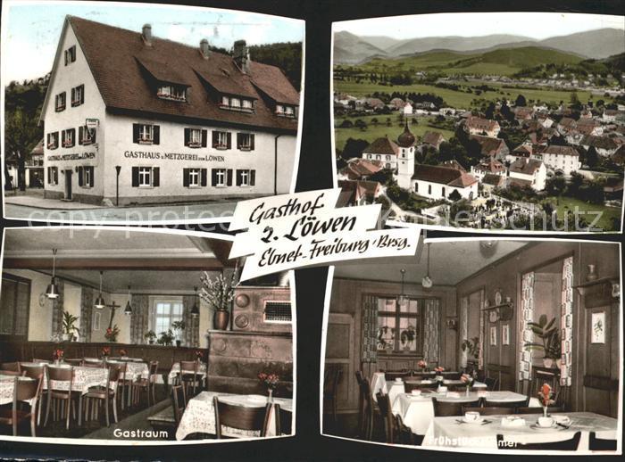 Ebnet Freiburg Breisgau Gasthof zum Loewen Gastraum Fruehstueckszimmer / Freiburg im Breisgau /Breisgau-Hochschwarzwald LKR