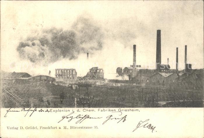 Explosion Darmstadt