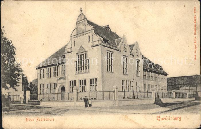 Quedlinburg Neue Realschule / Quedlinburg /Harz LKR