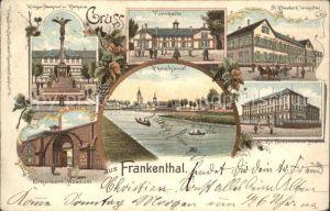 Frankenthal Pfalz Turnhalle St. Elisabeth Hospital Rhein Erkenbeck Museum / Frankenthal (Pfalz) /Frankenthal Pfalz Stadtkreis