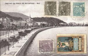Rio de Janeiro Trecho da Praia de Botafogo / Rio de Janeiro /