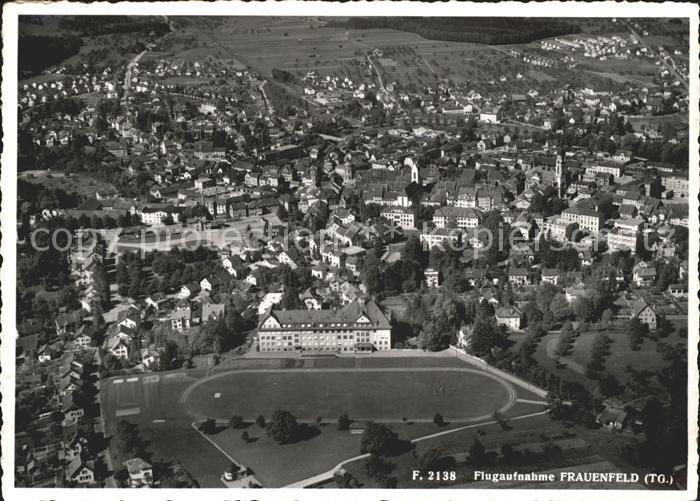 Frauenfeld Fliegeraufnahme / Frauenfeld /Bz. Frauenfeld