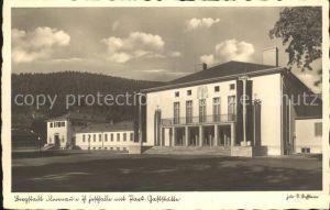 Ilmenau Thueringen Festhalle Park-Gaststaette  / Ilmenau /Ilm-Kreis LKR