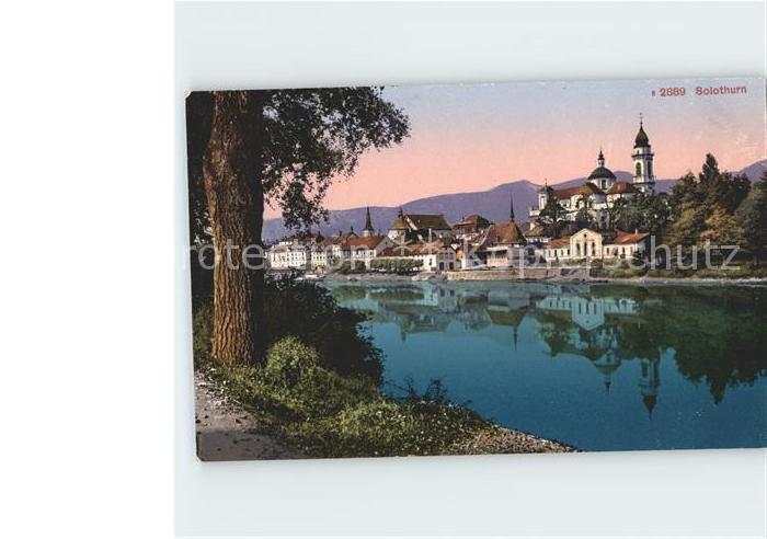 Solothurn Flussufer Kat. Solothurn