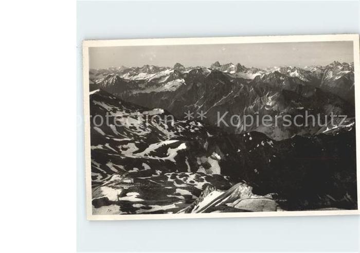 Oberstdorf Berglandschaft Kat. Oberstdorf