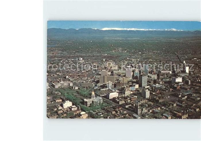 Denver Colorado Fliegeraufnahme Downtown Kat. Denver
