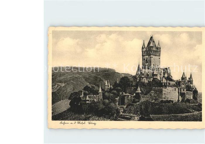 Kochem Burg Kat. Cochem Mosel