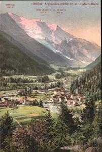 Argentiere Haute-Savoie Mont Blanc / Chamonix-Mont-Blanc /Arrond. de Bonneville