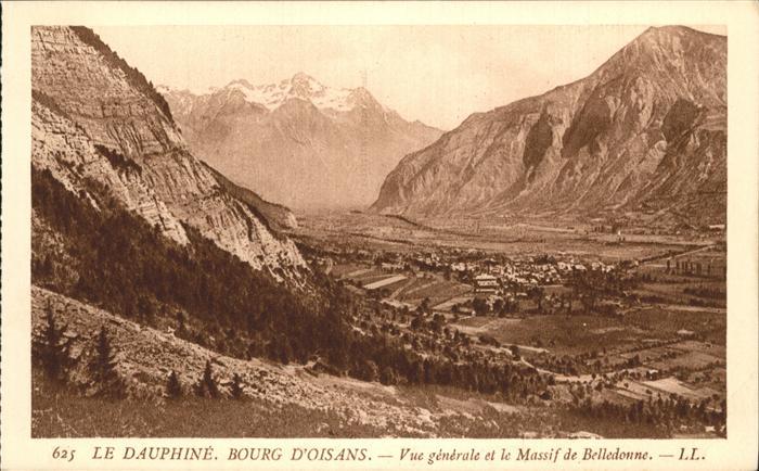 Le Bourg-d Oisans Bourg D Oisans Massif Belledonne / Le Bourg-d Oisans /Arrond. de Grenoble