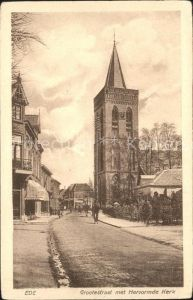 Ede Netherlands Grootestraat Kerk Kat. Ede