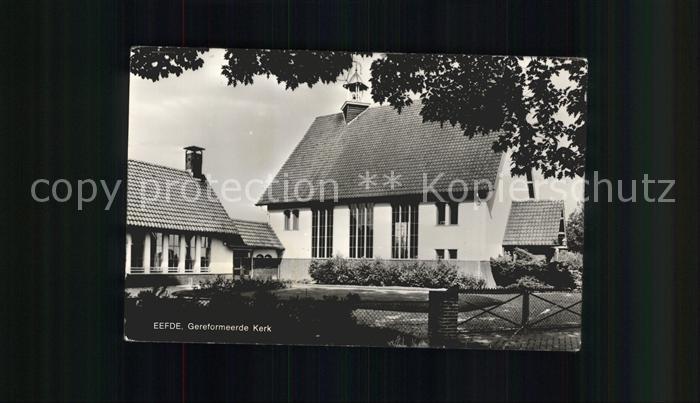 Eefde Gereformeerde Kerk Kat. Eefde