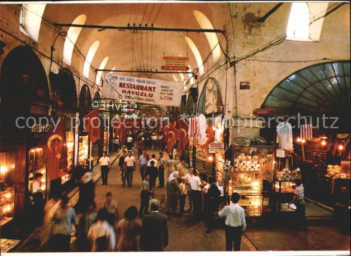 Istanbul Constantinopel Grand Bazar / Istanbul /