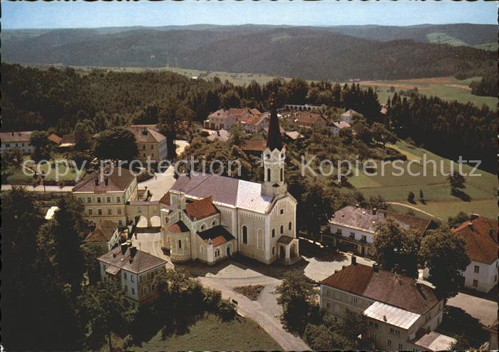 Maria Schmolln Wallfahrtskirche Fliegeraufnahme Kat. Maria Schmolln