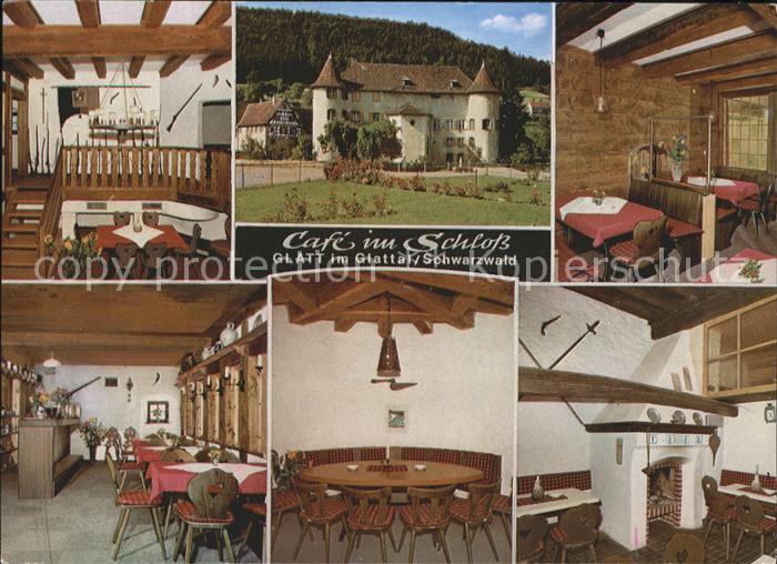 Glatt Cafe im Schloss Kat. Sulz am Neckar