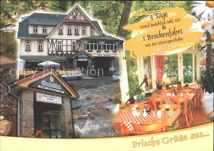 Schierke Harz Hotel Bodeblick  / Schierke Brocken /Harz LKR