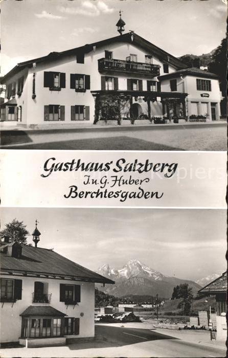Berchtesgaden Gasthaus Salzberg Kat. Berchtesgaden 0