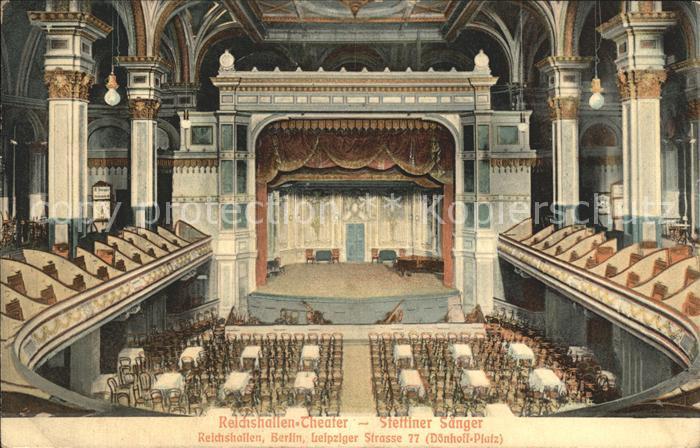 Berlin Reichshallen Theater Kat. Berlin