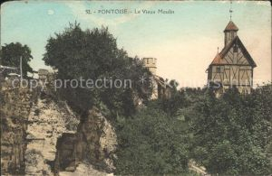 Pontoise  Val d Oise Vieux Moulin Kat. Pontoise
