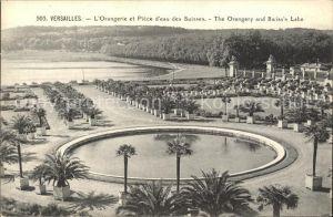Versailles Yvelines Orangerie et Piece d eau des Suisses Kat. Versailles