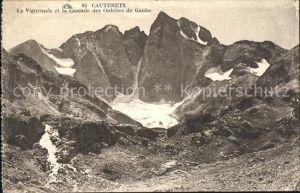 Cauterets Vignemale Cascade des Oulettes de Gaube Montagnes Pyrenees Kat. Cauterets