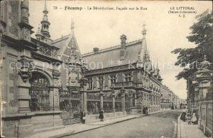 Fecamp La Benedictine Facade sur la Rue Kat. Fecamp