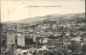 Saint Etienne Loire Vue generale cote Nord Ouest Kat. Saint Etienne