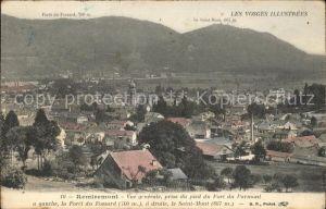 Remiremont Vosges Vue generale prise du pied du Fort du Parmont Kat. Remiremont