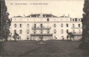 Evian les Bains Haute Savoie Grand Hotel Kat. Evian les Bains