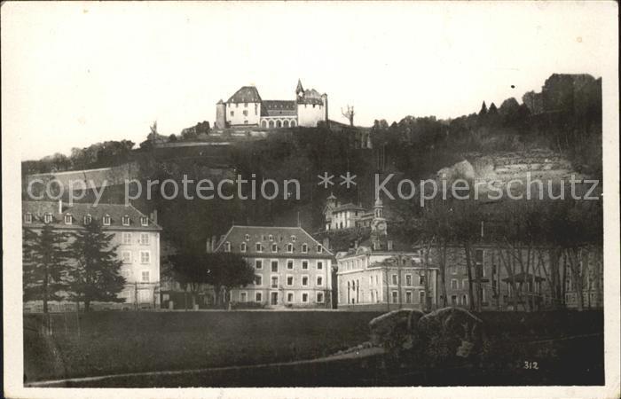 Uriage les Bains Isere Parc et Chateau Schloss Kat. Vaulnaveys le Haut