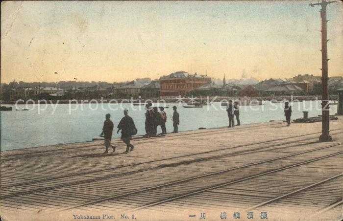 Yokohama Pier Kat. Yokohama