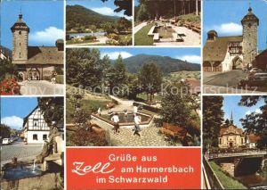 Zell Harmersbach  Kat. Zell am Harmersbach