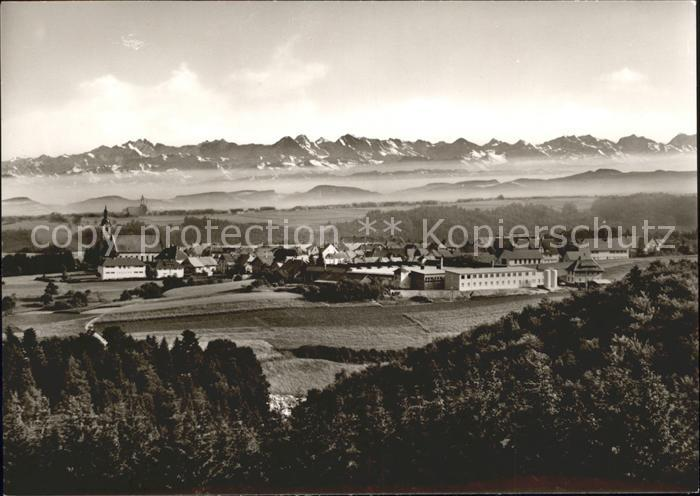 Goerwihl Albert Schweitzer Haus Panorama Kat. Goerwihl