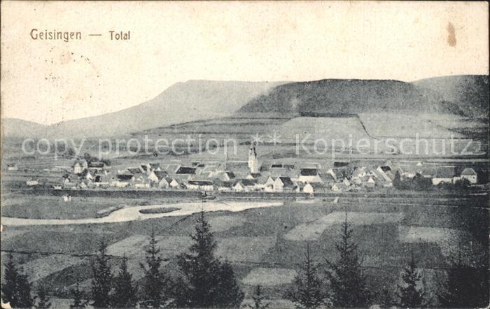 Geisingen Baden  Kat. Geisingen