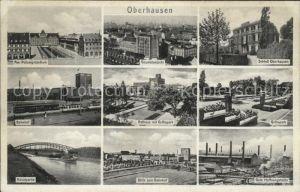 Oberhausen Gute Hoffnungshuette Grillopark Bahnhof Polizeipraesidium Kat. Oberhausen