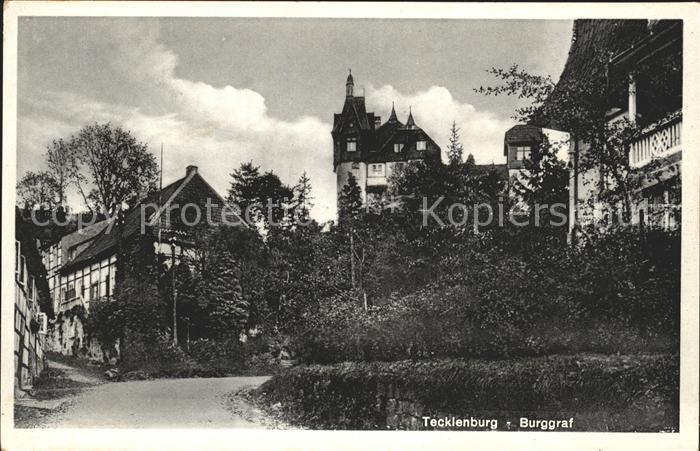 Tecklenburg Burggraf Kat. Tecklenburg