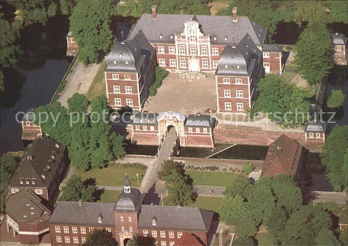 Ahaus Fliegeraufnahme Schloss Ahaus Kat. Ahaus