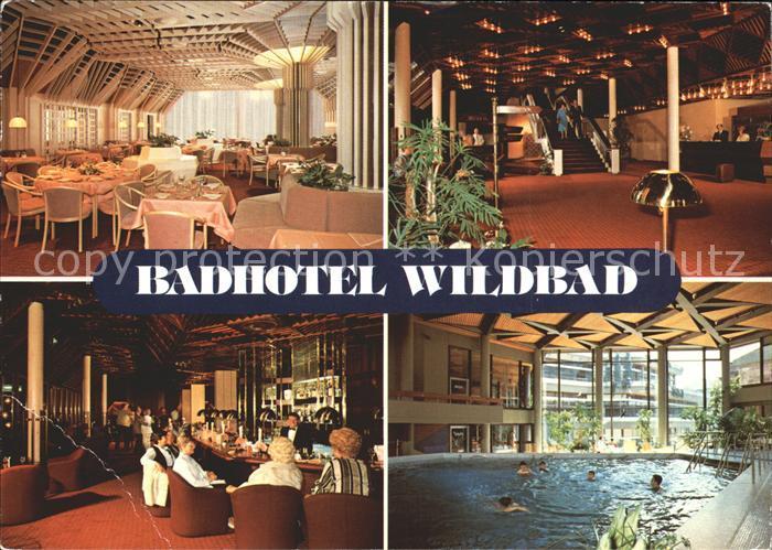 Wildbad Schwarzwald Badhotel Wildbad  Kat. Bad Wildbad
