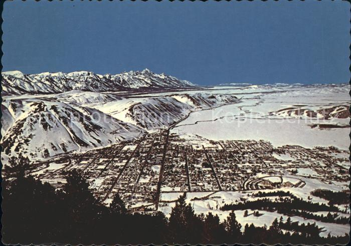 Jackson Wyoming Fliegeraufnahme Kat. Jackson