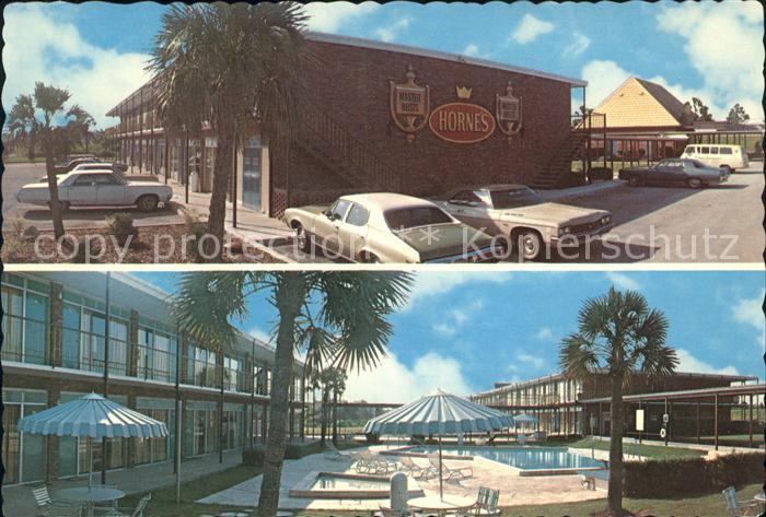 Gainesville Florida Hornes Motoe Inn Kat. Gainesville