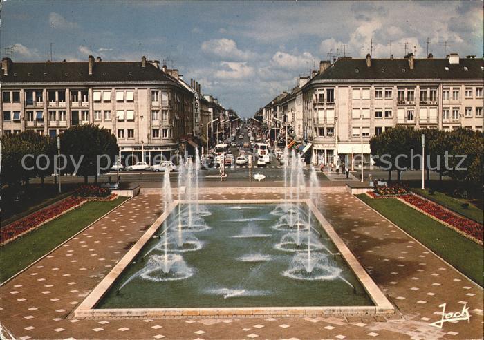 Saint Nazaire Loire Atlantique Avenue de la Republique  Kat. Saint Nazaire