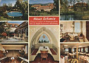 Schmie Haus Schmie Freizeit  und Bildungsstaette Evangelischen Maedchenwerks Kat. Maulbronn