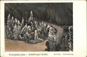 Kalvarienberg Adelsberger Grotte Kat. Lenggries