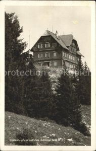 Stubenberg Steiermark Berghaus auf Schoeckel Kat. Stubenberg am See