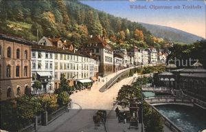 Wildbad Schwarzwald Olgastrasse Trinkhalle Kat. Bad Wildbad