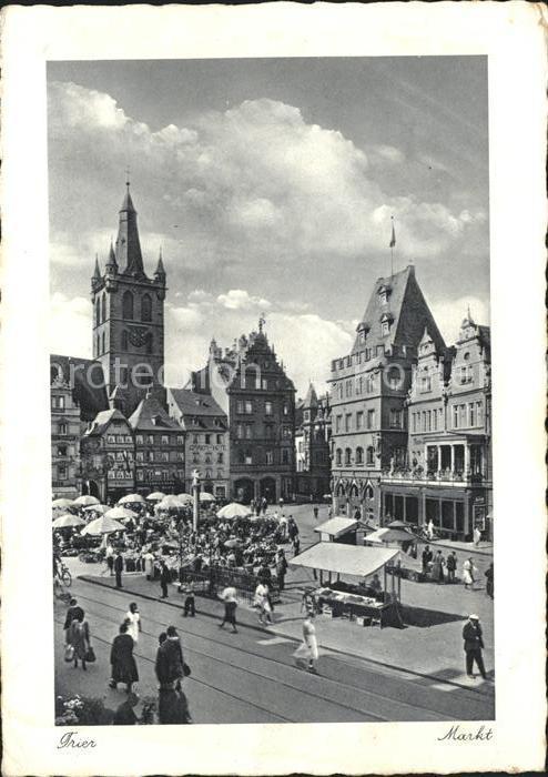 Trier Markt  Kat. Trier
