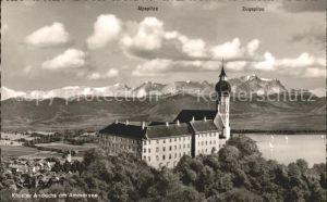 Andechs Kloster Andechs Ammersee Erling Wettersteinmassiv Kat. Andechs