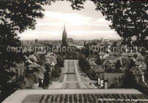 Hildesheim Blick vom Berghoelzchen Hotel Kirche / Hildesheim /Hildesheim LKR