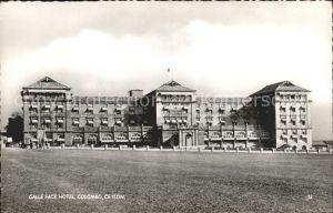 Colombo Ceylon Sri Lanka Galle Face Hotel Kat. Colombo