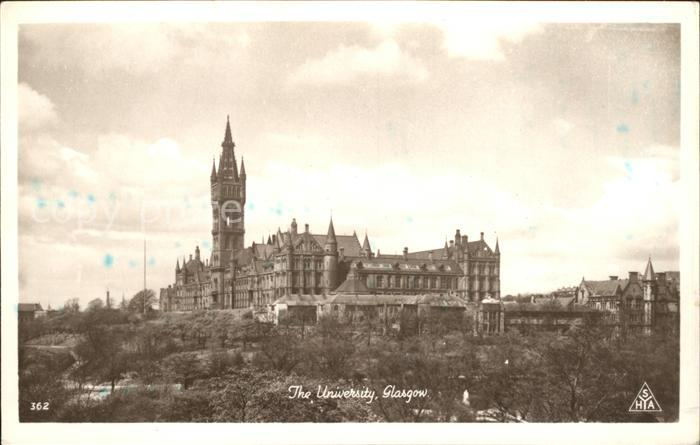 Glasgow University Kat. Glasgow City